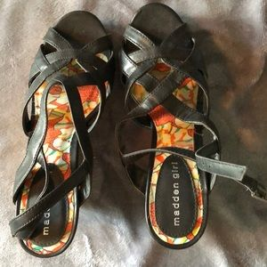 Madden Girl sandal wedges